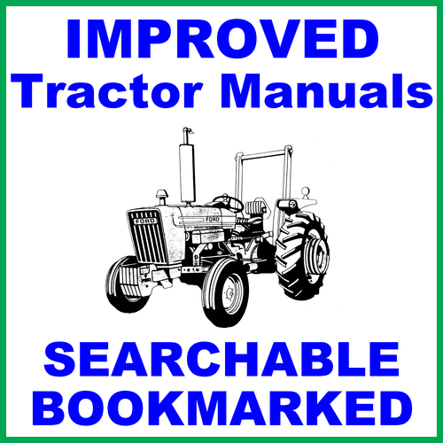 Product picture Collection of 3 files: Ford New Holland 2600 Tractor Factory Service Repair Manual & Shop & Operators Manual - IMPROVED - DOWNLOAD