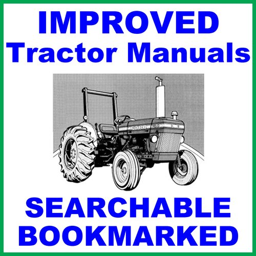 Product picture Ford New Holland 234 Tractor -6- Volumes Service Repair & Workshop Manual - IMPROVED - DOWNLOAD
